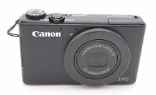 Canon PowerShot S110 12.1MP Digital Camera - Black
