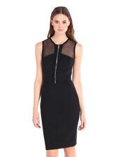 Diesel Women's Unique D - SIM Abito Dress Sleeveless Black Size S Bcf77