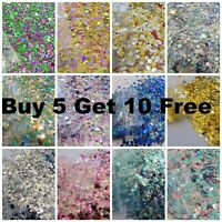 Chunky Festival Glitter Mix Face Eye lip L@@K Body Cosmetic 2g BUY 5 GET 10 FREE
