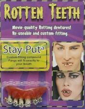 Hillbilly Rotting Dentures Teeth with Braces