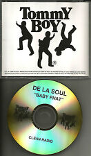 DE LA SOUL baby Phat w/ RARE CLEAN RADIO TRK TST PRESS PROMO DJ CD single 1997