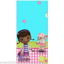DOC MCSTUFFINS PLASTIC TABLE COVER ~ Birthday Party Supplies Tableware Disney Jr
