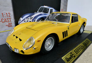 1/12 Ferrari 250 GTO in Yellow. Excellent. Rare and boxed. Revell 08854