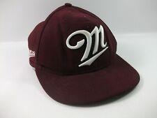 M Script Miller Hat New Era Purple M-L Snapback Baseball Cap