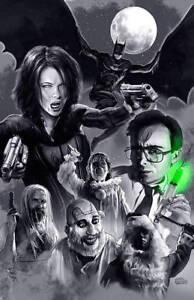 UNDERWORLD BATMAN Re-Animator Art Print Poster mash-up Scott Jackson