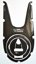 Ducati Monster 796 real carbon fiber tank dash trim panel cover pad protector