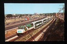 1978 GO Transit Diesel Locomtive #510 Bi-Level Coaches Railroad Train Toronto ON