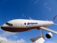 Boeing B767-300 Flugzeugmodell Aircraft Model 1:200 Britannia Airways Deutschlan
