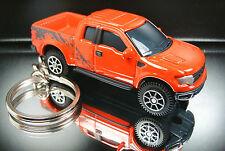 Red F150 SVT Raptor Key Chain Ring 3D Fob
