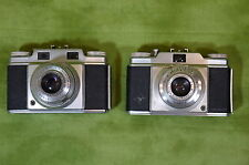 Agfa Prontor Svs Silette Ansco Lot of 2 pc Display Restore Parts Only P02