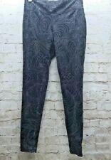 Mossimo Supply Co. Size Medium Black White Leggings Geometric Pattern Print