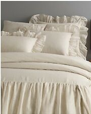 Pine Cone Hill Savannah King Linen Cotton Gauze Bedspread Natural