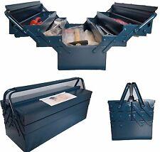 Werkzeugkasten, Werkzeugkoffer, Montagekoffer - bestückt mit 84 Werkzeugen