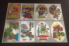 Vtg 1990 Mello Smello Nintendo SUPER MARIO BROS. *COMPLETE SET* Stickers RARE!