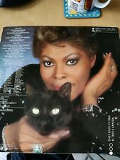 """12"""" Vinyl Record Clock Dionne Warwick Heartbreaker Upcycled Vintage Record"""
