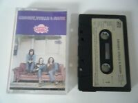 CROSBY STILLS & NASH SELF TITLED ALBUM CASSETTE TAPE 1975 PAPER LABEL ATLANTIC