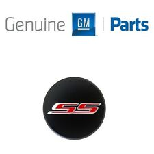 For Chevrolet Camaro 2016-2018 Black Center Cap Red SS Logo GM Genuine OEM