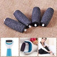 Pro 4Pcs Replacement Rollers Refill Pedi Perfect Electronic Pedicure Foot File