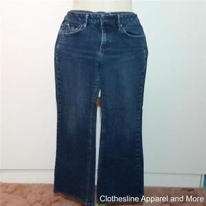 Women's Jeans Banana Republic 28 6S Small Stretch Medium Finish Back Pkt Flaps98