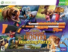 ❤️NEW BUNDLE Cabela's Big Game Hunter: Hunting Party XBOX 360 Video Game❤️