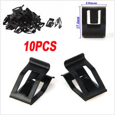 10PCS Car Dash Dashboard Moulding Trim Metal Retainer Rivet Fastener Clips Black