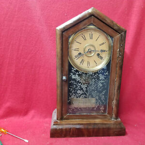 1875=85 Terry Clock Company Shelf Clock