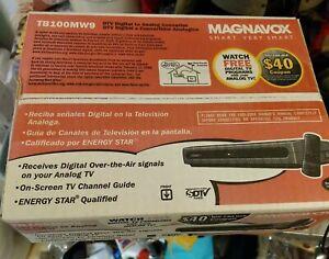 Magnavox DTV Digital to Analog Converter Box TB100MW9 BRAND NEW Sealed Box