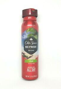 Ole Spice men's fresher collection body spray refresh Fiji 3.7 oz 012044039991