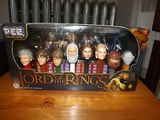 LORD OF THE RINGS PEZ COLLECTOR'S SERIES BOX SET, NIB, 2011