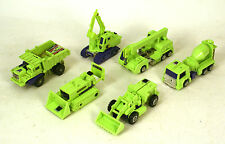 Transformers G1 Devastator Long Haul Hook Scrapper Mix Master Bone Crusher Scave