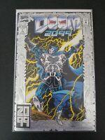 Doom 2099 #1 silver foil cover Marvel Comics