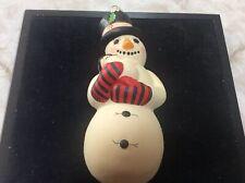 vaillancourt folk art ornament Snowman