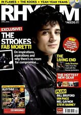 RHYTHM DRUMMER MAGAZINE +CD 2006 APR IN FLAMES, THE KOOKS, YEAH YEAH YEAHS, FAB