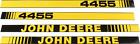 NEW Hood Decal Set JD4455 fits John Deere 4455