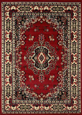 Persian Burgundy Area Rug 9 X 12 Large Oriental Carpet 69 - Actual 9'2'' X 12'5""