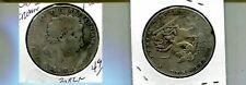 1820 GREAT BRITAIN CROWN  SILVER COIN VG 3082N
