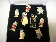 Snow White cast members   pin set  Mint!