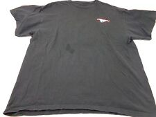 Vintage Ford Mustang Black Men's T-shirt Size Large
