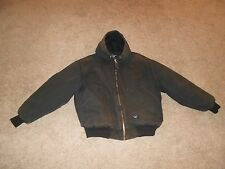 Men's Walls Work Wear Winter Jacket Heavy Insulated Dark Brown Large Reg. 46-48