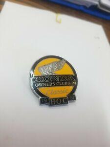 HONDA OWNERS CLUB OF GREAT BRITAIN Enamel  Badge MotorCYCLE