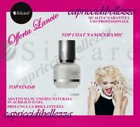 TOP COAT NANOCERAMIC SILCARE 15ml TOP FINISH SIGILLANTE FINALE PER UNGHIE NAIL