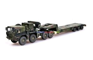 ModelCollect 1/72 German MAN KAT1M1014 Truck with Trailer Military Tank Carrier