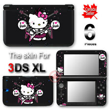Hello Kitty Punk CUTE SKIN VINYL STICKER DECAL COOL COVER for Nintendo 3DS XL