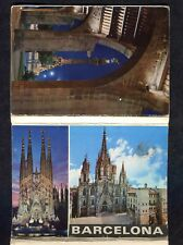 c1980s: 12 Cards Showing Different Views of Barcelona