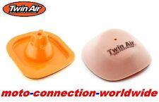 Twin Air Filter & Caja De Aire Lavado Cubierta Para KTM SX250 SXF450 2011 - 2015 C103