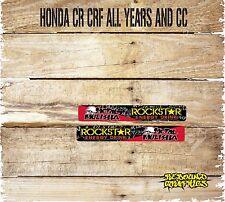 HONDA CRF CR 85 125 150 250 450 MOTOCROSS SWINGARM GRAPHICS-DECALS-STICKERS-RR