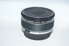 Super Albinar Auto Tele-Converter 2x Lens with Caps (Olympus OM Mount) (LN-140)