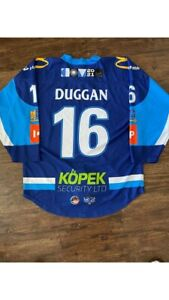 Ice Hockey Jersey - Coventry Blaze - Game Worn - #16 Sam Duggan