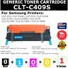 1x Generic Toner CLT-409S C409S Cyan Colour For Samsung CLP-310N CLX3175N