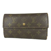 Auth LOUIS VUITTON M61215 Monogram Porte Tresor International Long Wallet 17279b